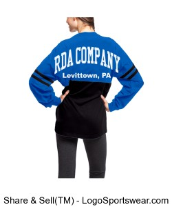 RDA Company Pullover (Adult Sizes) Design Zoom